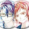 K: Seven Stories Trading Ani-Art Can Badge (Set of 9) (Anime Toy)