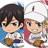 Ace of Diamond act II Gororin Can Badge Collection (Set of 8) (Anime Toy)