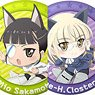 501st Joint Fighter Wing Strike Witches Road to Berlin Trading Can Badge (Set of 11) (Anime Toy)