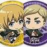 Attack on Titan Trading Can Badge Vol.2 (Set of 8) (Anime Toy)