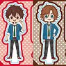TV Animation [Ensemble Stars!] Yurukawa Art Petit Acrylic Figure C (Set of 8) (Anime Toy)