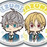 TV Animation [Ensemble Stars!] Yurukawa Art Can Badge E (Set of 9) (Anime Toy)