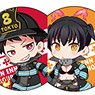 Fire Force Trading Can Badge (Set of 8) (Anime Toy)