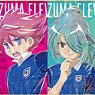 Inazuma Eleven Trading Ani-Art Mini Colored Paper (Set of 12) (Anime Toy)