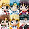 Petit Chara! Pretty Soldier Sailor Moon Petit to Oshioki yo! 2020 Ver. (Set of 6) (PVC Figure)