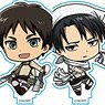 Attack on Titan Acrylic Stand Collection Vol.2 (Set of 8) (Anime Toy)