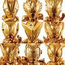 Kamen Rider Gold Figure 01 (Set of 16) (Shokugan)