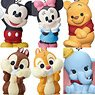 Disney Friends Mascot (Set of 10) (Shokugan)
