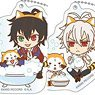 Hypnosismic x Rascal Acrylic Key Ring (Buster Bros!!! vs Mad Trigger Crew 2) (Set of 6) (Anime Toy)