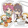 Hypnosismic x Rascal Acrylic Key Ring (Fling Posse vs Matenro 2) (Set of 6) (Anime Toy)
