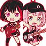 BanG Dream! Girls Band Party! Nendoroid Plus Trading Rubber Strap Afterglow (Set of 5) (Anime Toy)