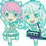 BanG Dream! Girls Band Party! Nendoroid Plus Trading Rubber Strap Pastel*Palettes (Set of 5) (Anime Toy)
