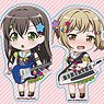 BanG Dream! Girls Band Party! Nendoroid Plus Trading Sticker Poppin`Party (Set of 10) (Anime Toy)