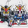 SD Gundam Acrylic Key Ring Vol.2 (Set of 8) (Anime Toy)