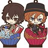 Bungo Stray Dogs 3way Rubber Stand (Chara Dolce) (Set of 6) (Anime Toy)