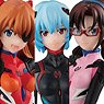 Gasha Portraits Evangelion: 3.0+1.0 (Set of 9) (PVC Figure)