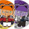 Hypnosismic -Division Rap Battle- Kuma-gurumi Can Badge Vol.2 (Set of 6) (Anime Toy)