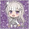 Re:Zero -Starting Life in Another World- Pop-up Character Square Can Badge Emilia (Anime Toy)