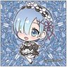 Re:Zero -Starting Life in Another World- Pop-up Character Square Can Badge Rem A (Normal) (Anime Toy)