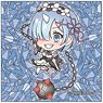 Re:Zero -Starting Life in Another World- Pop-up Character Square Can Badge Rem B (Demon Ver.) (Anime Toy)
