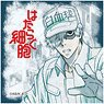 Cells at Work! Square Can Badge White Blood Cell (Anime Toy)