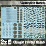 Waterslide Decals - Classic Forest Camo (Decal)
