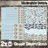 Waterslide Decals - Classic Desert Camo (Decal)