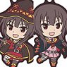 KonoSuba: God`s Blessing on this Wonderful World! Legend of Crimson Rubber Strap Collection (Set of 7) (Anime Toy)