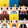 Chokorin Mascot Pretty Soldier Sailor Moon (Set of 6) (PVC Figure)