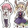 Acrylic Key Ring [Miss Kobayashi`s Dragon Maid] 01 Box (GraffArt) (Set of 10) (Anime Toy)