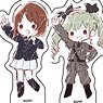 Acrylic Petit Stand [Girls und Panzer das Finale] 01 Box (GraffArt) (Set of 16) (Anime Toy)