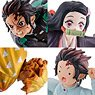 Petitrama Series Demon Slayer: Kimetsu no Yaiba Joukei no Hako Vol.01 (Set of 4) (PVC Figure)