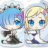 Re:Zero -Starting Life in Another World- Trading Acrylic Mugyutto Clip (Set of 11) (Anime Toy)