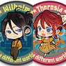 Re:Zero -Starting Life in Another World- Trading Mat Can Badge American Retro Ver. (Set of 6) (Anime Toy)
