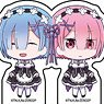 Acrylic Petit Stand [Re:Zero -Starting Life in Another World-] 02 Box (Mini Chara) (Set of 8) (Anime Toy)