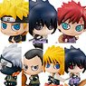 Petit Chara Land Naruto: Shippuden New Color! Summoning Technique Believe It! (Set of 8) (PVC Figure)