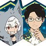 TV Animation [World Trigger] Glitter Acrylic Badge Collection (Set of 6) (Anime Toy)